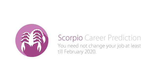 Scorpio Career Prediction 2019-20
